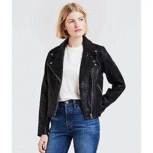 Levi's Leather Moto Jacket